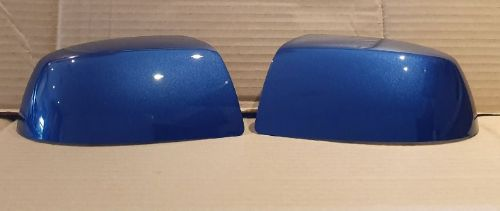 FORD FOCUS 04-07 WING MIRROR COVER LH AND RH SIDE IN OCEAN BLUE